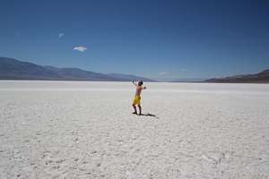 Death Valley, Badwater i kalifornien