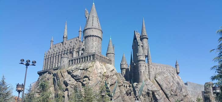Harry Potter World på Universal Studios