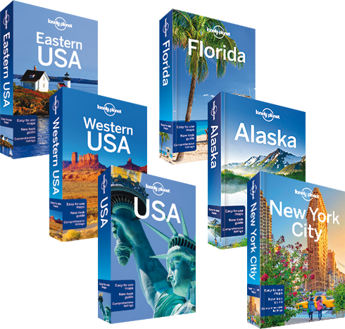 Lonely Planet guideböcker om USA
